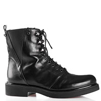 Ботинки Loriblu со стразами на шнуровке, фото