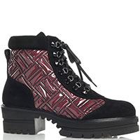 Женские ботинки Loriblu с замшевыми вставками, фото