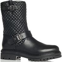 Черные ботинки Loriblu с декором-пряжками, фото