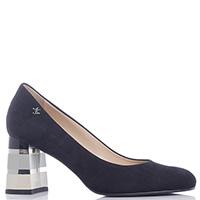 Черные туфли Marino Fabiani с закругленным носочком, фото