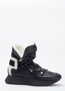 Зимние кроссовки Loriblu черного цвета, фото