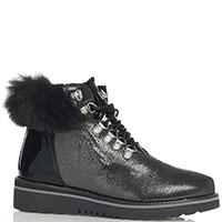 Ботинки Lab Milano с серебристым напылением, фото