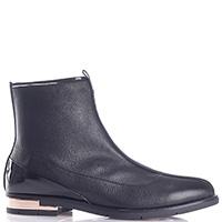 Черные ботинки Fiorangelo с боковой молнией, фото