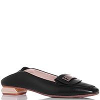 Черные туфли Fiorangelo с металлическим декором, фото