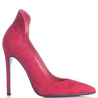 Красные туфли-лодочки Spaziomoda Bologna с высоким задником, фото