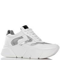 Белые кроссовки Voile Blanche на толстой подошве, фото