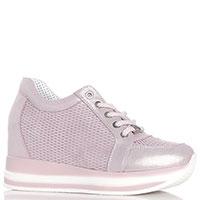 Розовые кроссовки Roberto Serpentini со скрытой перфорацией, фото