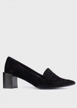 Черные туфли Chantal из замши, фото