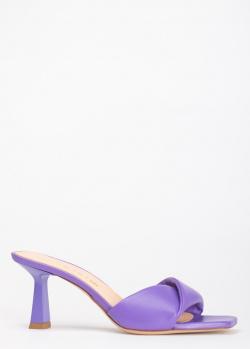 Мюли Chantal фиолетового цвета, фото