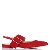 Красные слингбеки Fabio Rusconi с острым носком, фото