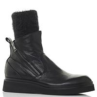 Черные ботинки Fru.It с текстильным носком, фото