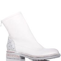 Белые ботинки Fru.It с голенищем из мягкой кожи, фото