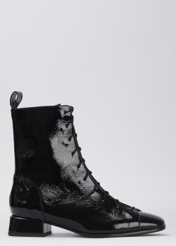 Лакированные ботинки Fabio Rusconi из кожи, фото