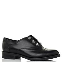 Черные туфли Mally с металлическим декором, фото