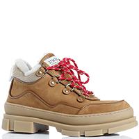 Утепленные ботинки Stokton из коричневого нубука, фото