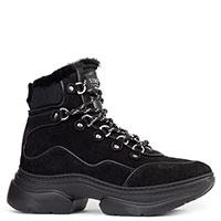 Спортивные ботинки Stokton из черной замши, фото