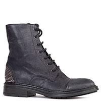 Темно-синие ботинки Fru.It с заклепками на пятке, фото