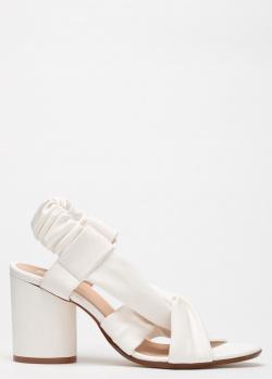 Босоножки Fru.It из белой кожи с эластичной пяткой, фото
