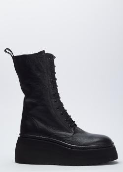Зимние высокие ботинки Fru.It на молнии и шнуровке, фото