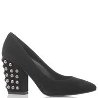 Черные туфли The Seller с декором на каблуке, фото