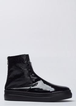 Кожаные ботинки Stokton с лаковым покрытием, фото