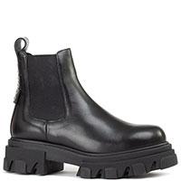 Женские ботинки Ma&Lo из черной кожи, фото