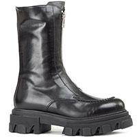 Ботинки Ma&Lo черного цвета на массивной подошве, фото