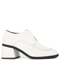 Белые туфли Ma&Lo на шнуровке, фото