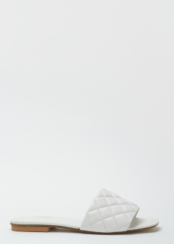 Стеганые шлепанцы Nila&Nila белого цвета, фото