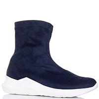 Текстильные кроссовки Nila&Nila синего цвета, фото