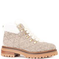 Бежевые ботинки Stokton на меху, фото