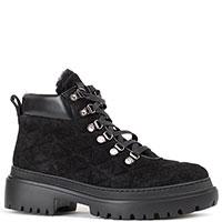 Черные ботинки Stokton на тракторной подошве, фото