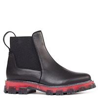Ботинки-челси Stokton из гладкой черной кожи, фото