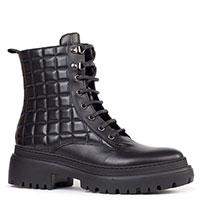 Стеганые ботинки Stokton черного цвета, фото