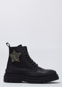Женские ботинки Stokton из натуральной кожи, фото