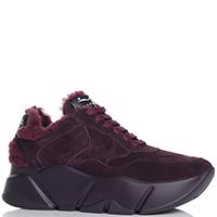Утепленные кроссовки Voile Blanche бордового цвета, фото