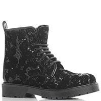 Черные ботинки Stokton с пайетками, фото