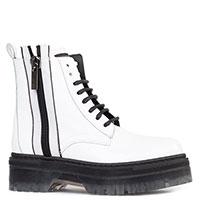 Ботинки из лаковой кожи Stokton на молнии, фото