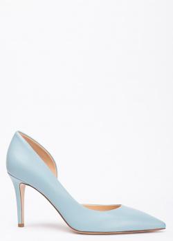 Голубые туфли Fabio Rusconi с острым носком, фото