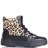 Женские ботинки Apepazza Sport с леопардовым принтом, фото