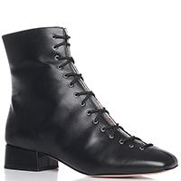 Черные ботинки Fabio Rusconi на низком каблуке, фото