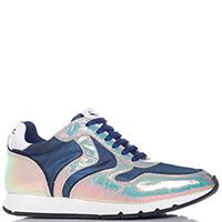 Синие кроссовки Voile Blanche с эффектом-хамелеон, фото