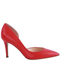 Красные туфли Fabio Rusconi на шпильке, фото