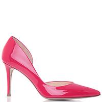 Розовые туфли Fabio Rusconi на высоком каблуке, фото