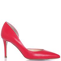 Красные туфли-лодочки Fabio Rusconi на шпильке, фото