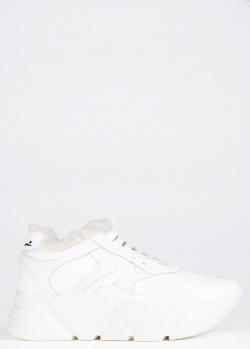 Белые кроссовки Voile Blanche Monster с массивной подошвой, фото