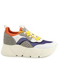 Разноцветные кроссовки Voile Blanche на толстой подошве, фото