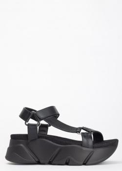 Кожаные сандалии Voile Blanche Morgana на массивной подошве, фото