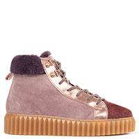 Замшевые ботинки Voile Blanche New Fiona на меху, фото