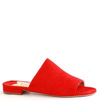 Замшевые мюли Fabio Rusconi в красном цвете, фото